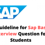 SAP BASIC INTERVIEW QUESTION