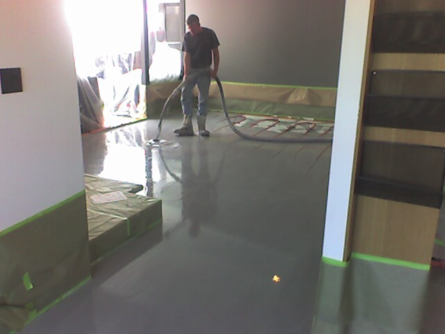 constructing floors
