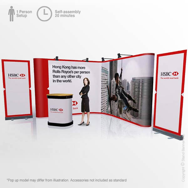 Exhibition Stand Pop Up