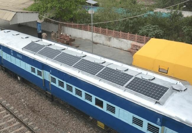 Indian Railways Renewable Energy