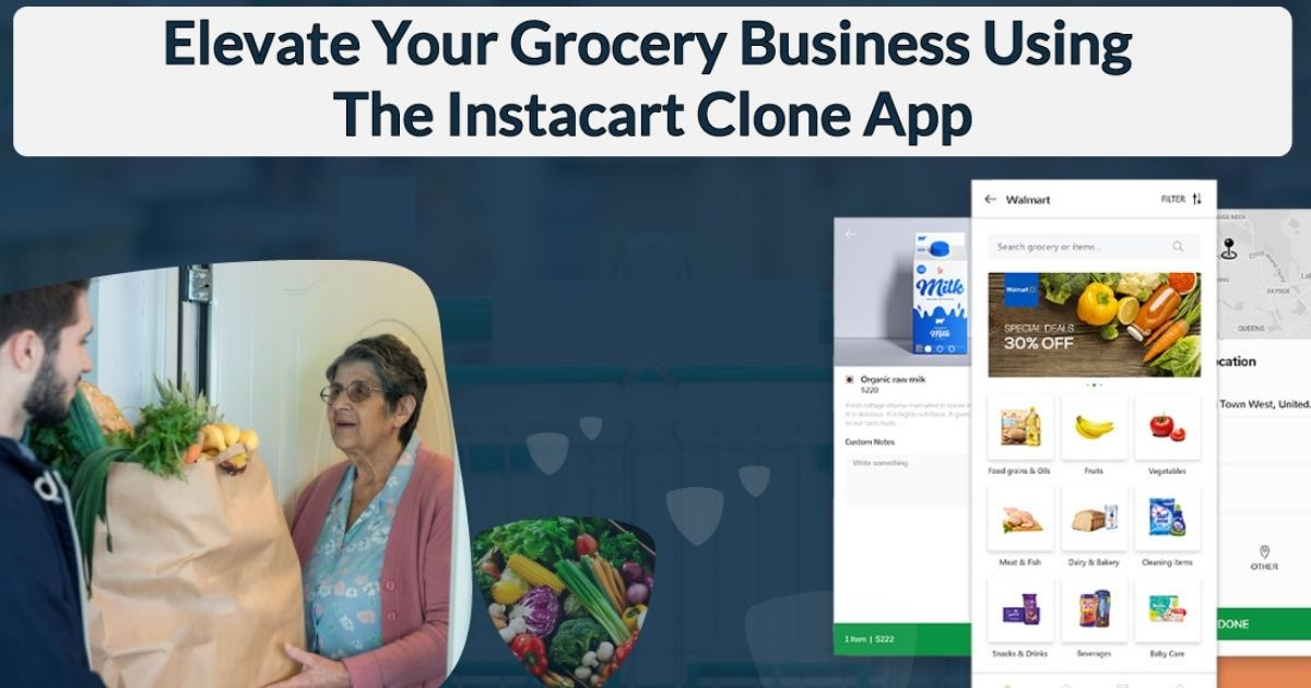 instacart clone app