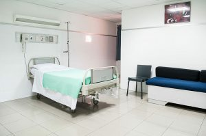 bariatic hospital bed