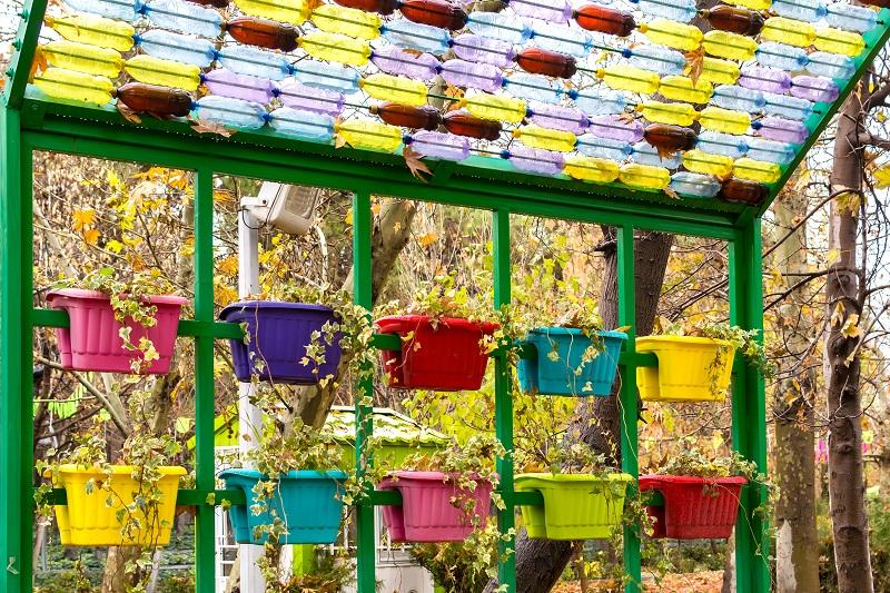 Plastic Planter Boxes