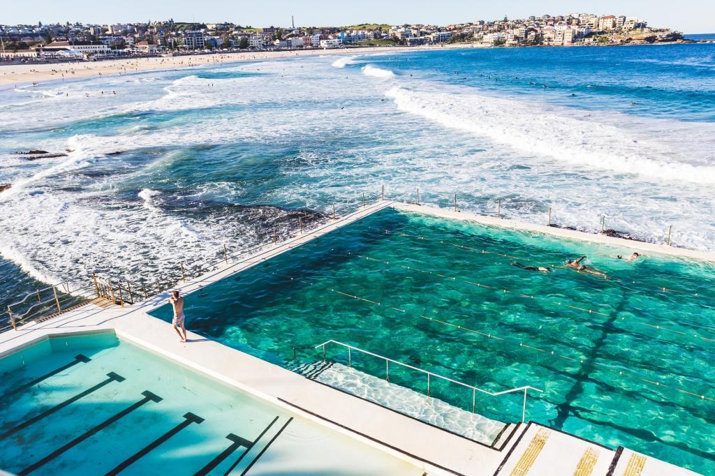 Bondi beach view Sydney