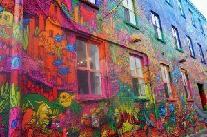 graffiti alley toronto