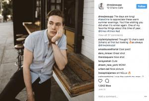 instagram cast study