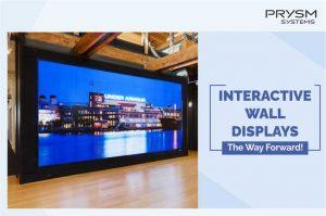 Interactive Video Wall Display
