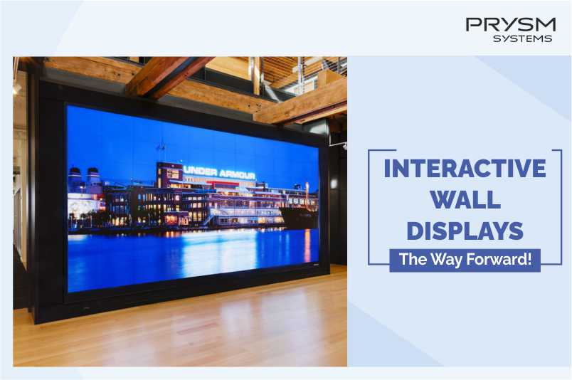 Interactive Video Wall Display