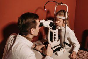 Kids eye test