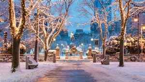 Boston, Massachusetts Christmas