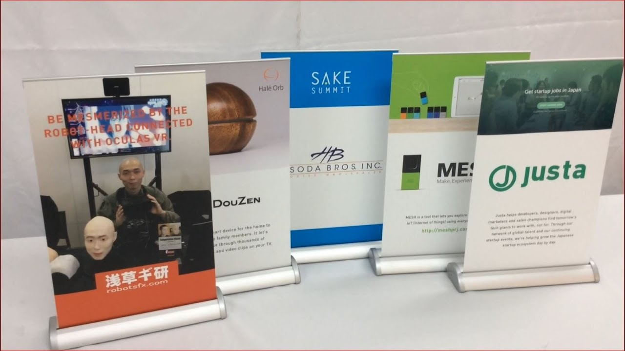Roll up Banner Stands