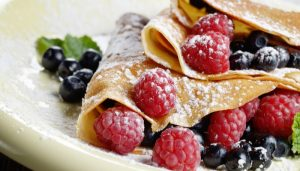 delicious tasty homemade crepes
