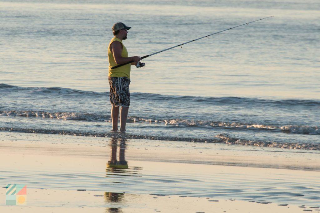 Saltwater Surf Fishing