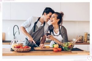 Cook with her on valentine 2021