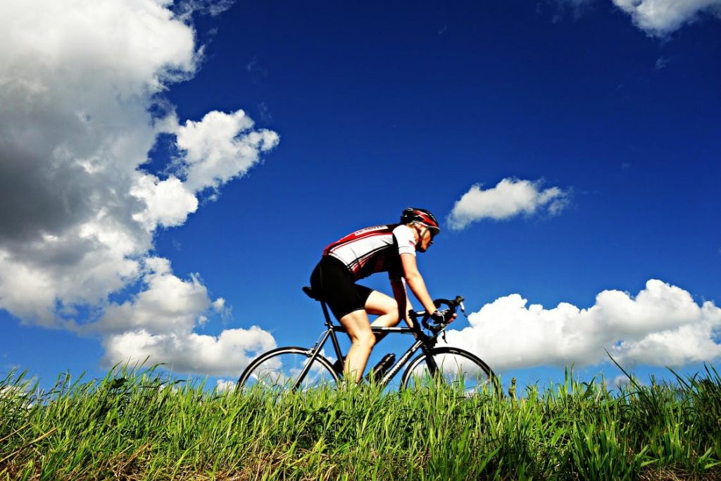 long bicycle ride