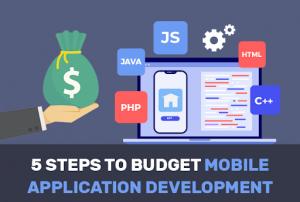 5 Steps to budget mobile application development