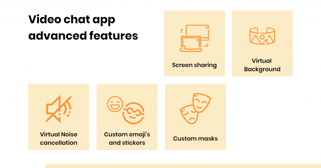 video chat app feature