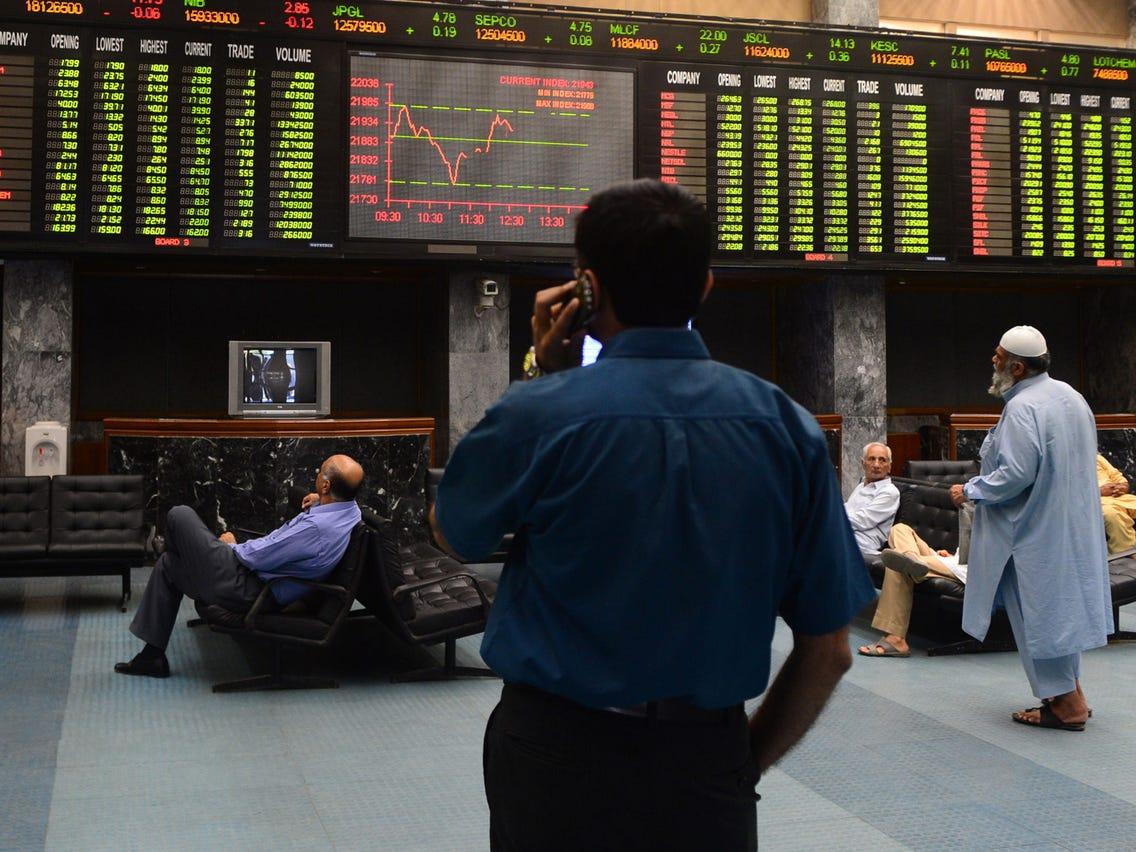 Stock Market Volatility Change