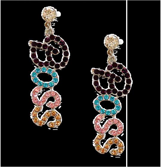 girl boss earrings