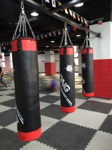 Boxing bag for gym
