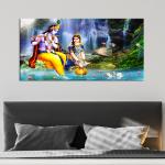 radha krishna wall Paintings